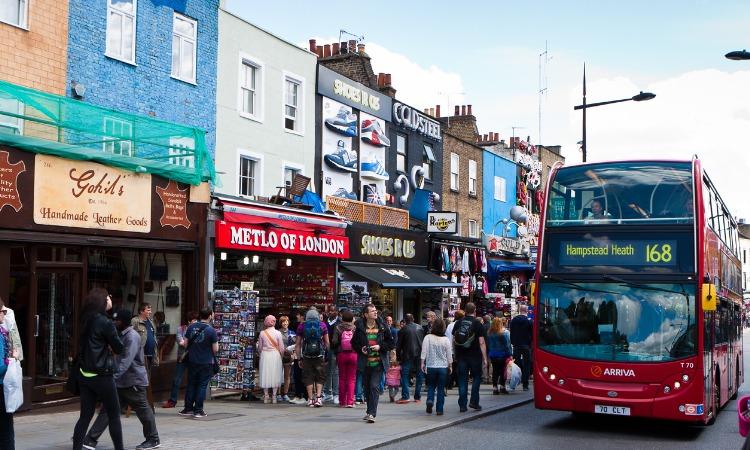 bairros de Londres Camden Town
