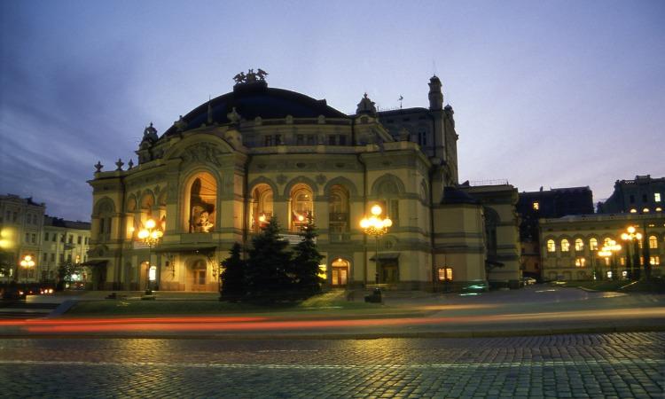 ballet Kiev no teatro de ópera da ucrânia