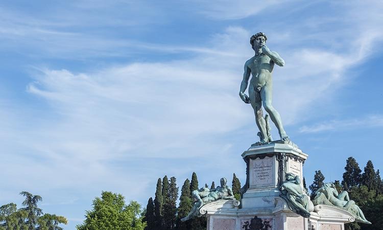 David de Michelangelo em Florença