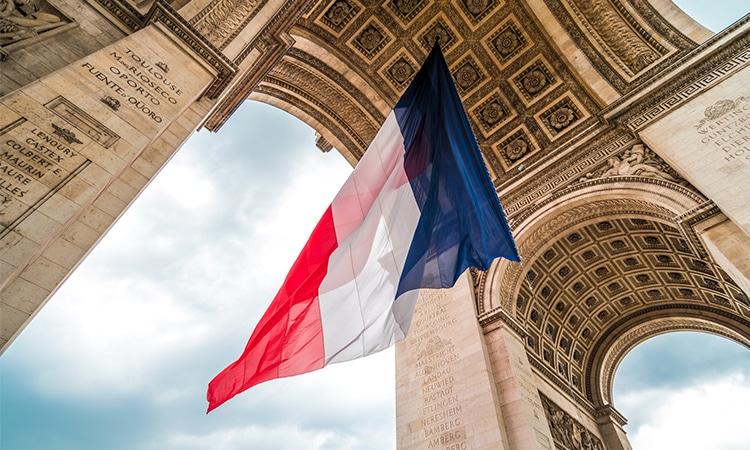 ingresso para o arco do triunfo em paris