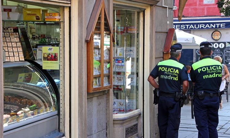segurança na Espanha polícia