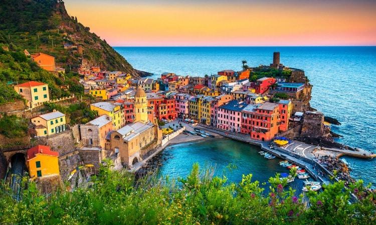 seguro viagem Italia Cinque Terre