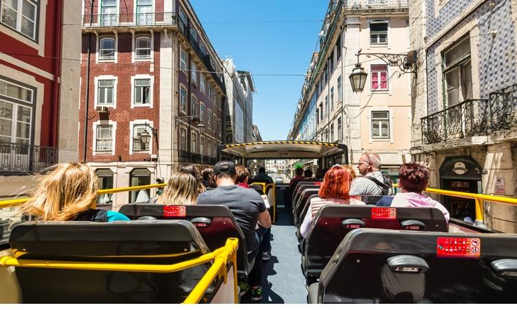 transportes em Lisboa ônibus turístico