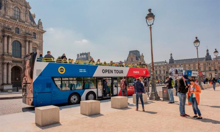 ingressos para ônibus de turismo em paris