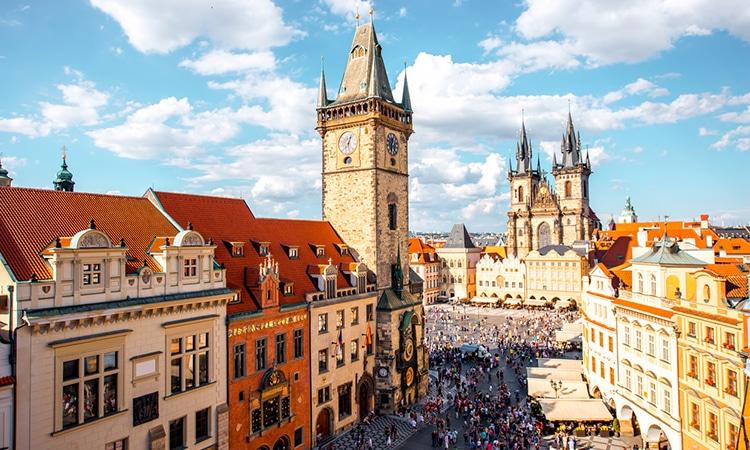Praga destino de lua de mel na Europa