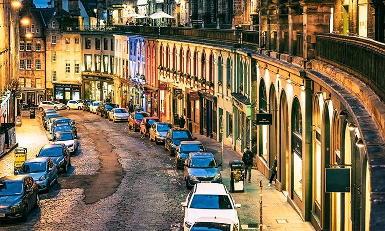 Edimburgo ruas