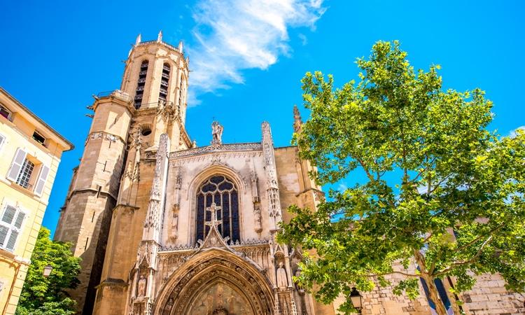 Catedral em Aix-en-Provence