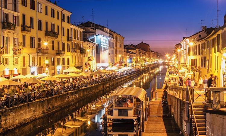 Milão noite