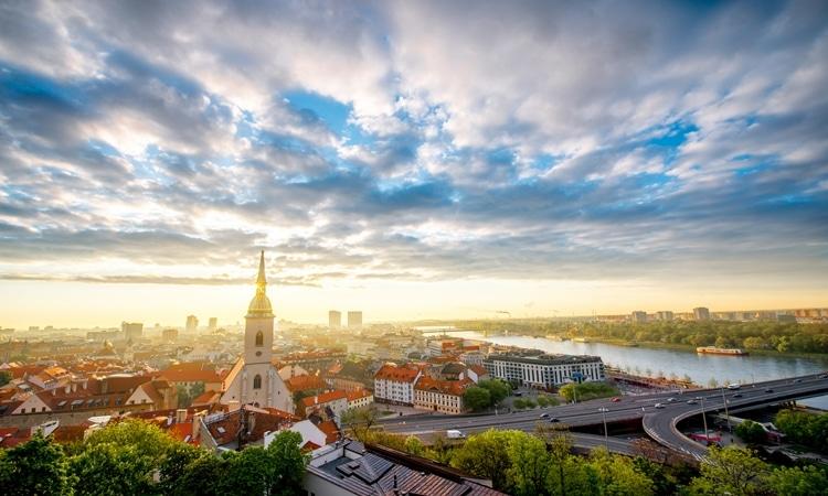 O que fazer em Bratislava cidade velha