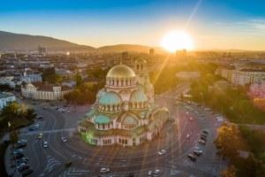 Sofia na Bulgária catedral