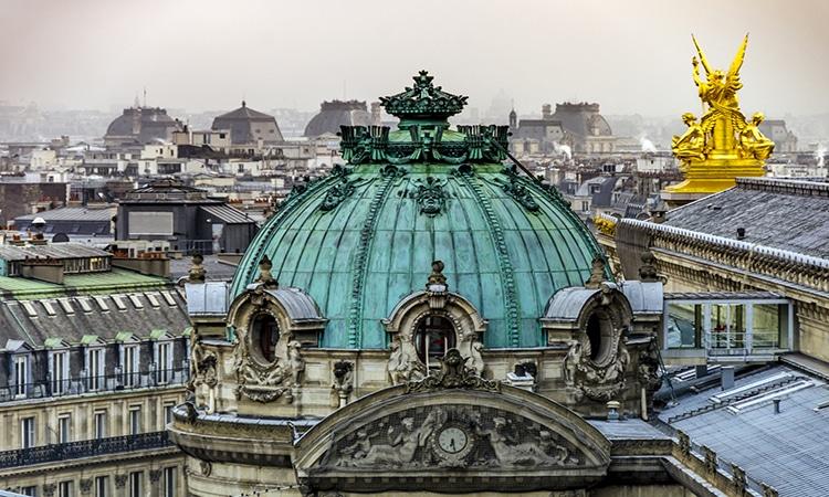 Cúpula da Ópera Garnier