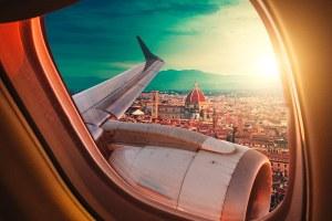 passagens aéreas para itália