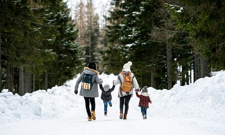 roupas para neve na Europa