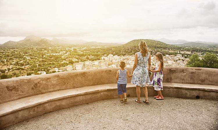 lugares para viajar com a família