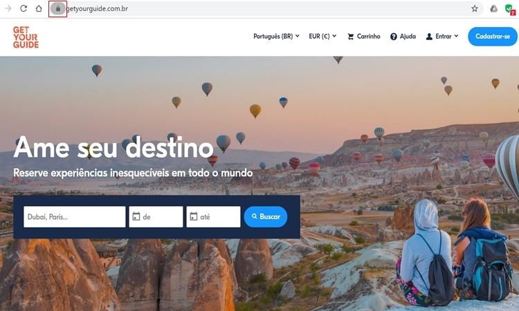 Comprar ingressos para atrações turísticas online seguro