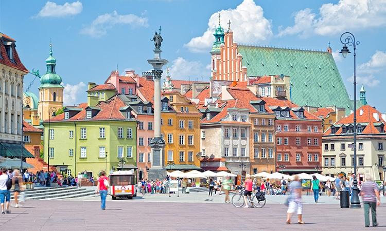 Praça do Castelo Varsóvia