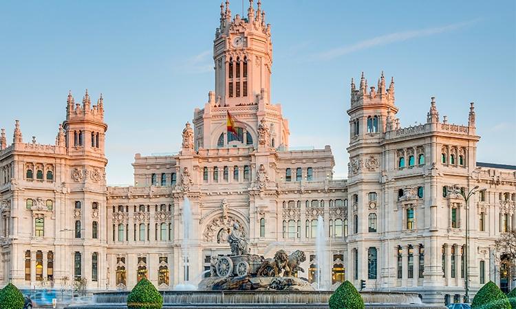 Roteiro Madrid Fonte de Cibeles