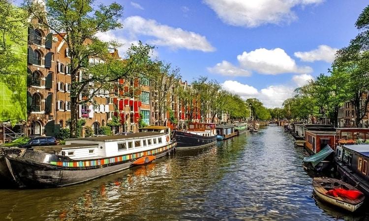 Atrações do ônibus de turismo em Amsterdam