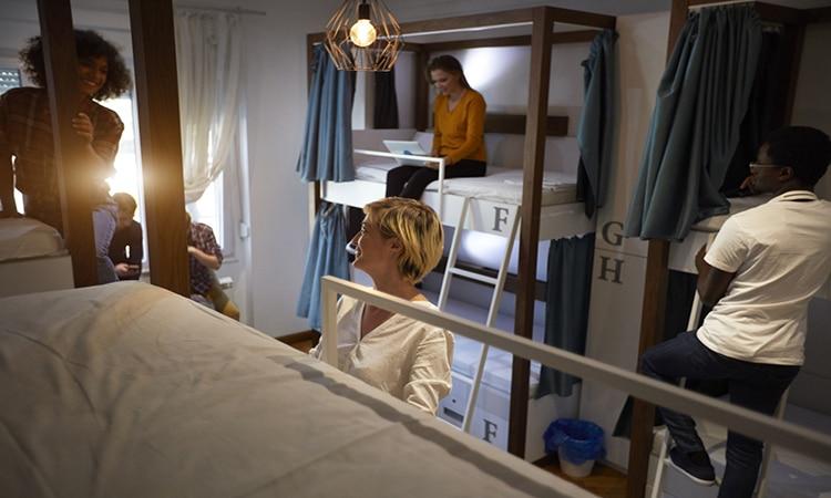hospedagem em hostel