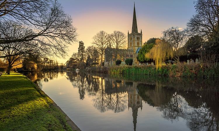 O que fazer na Inglaterra Stratford-upon-Avon