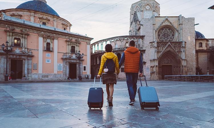 Viagem para Europa viajantes