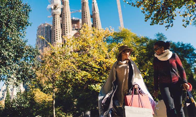compras em Barcelona turistas