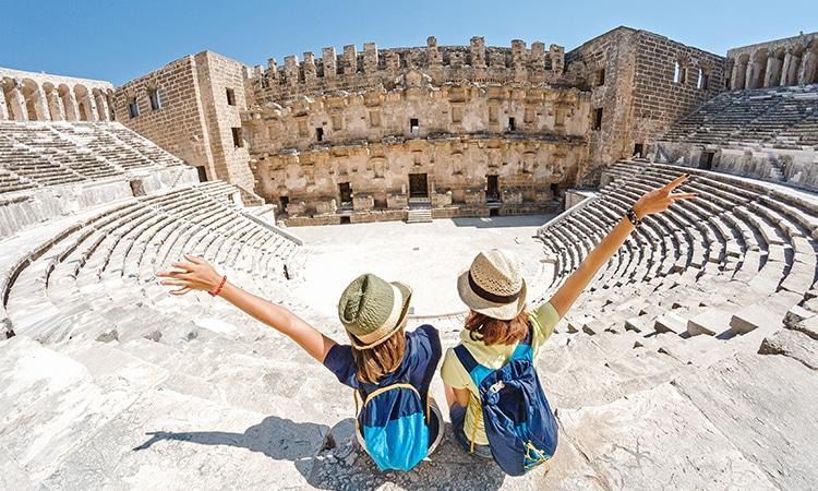Europa em julho turistas