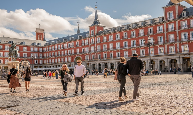 Hostels em Madrid Plaza Mayor