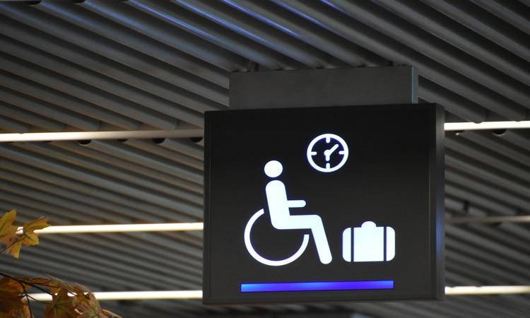 Acessibilidade no aeroporto
