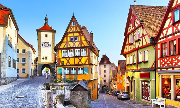 Seguro viagem para Alemanha Rothenburg