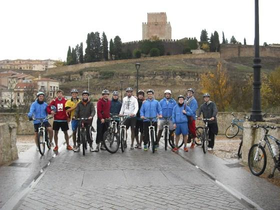 Ciudad Rodrigo en Bicicleta.