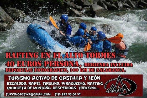 rafting en Madrid, Gredos, www.turismoactiva.com