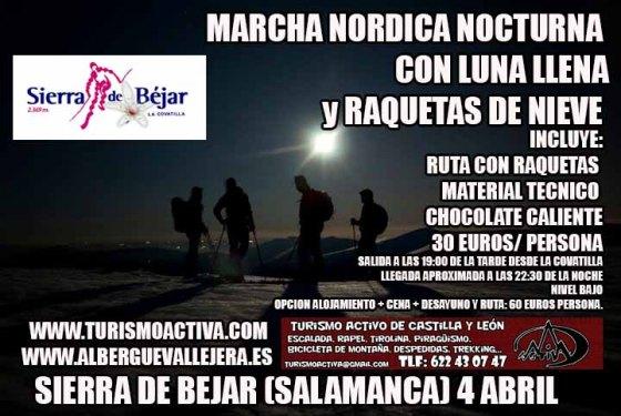 Raquetas de nieve nocturna, Turismo Activa
