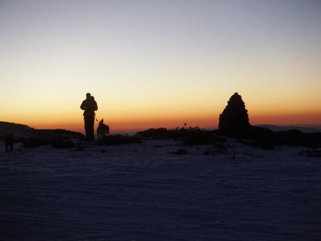 Ruta nocturna, por la Sierra de Bejar, Gredos Oeste