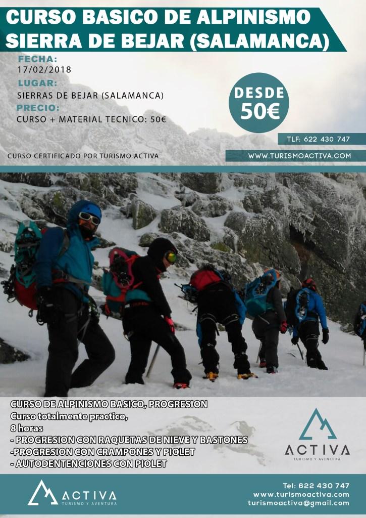 CURSO ALPINISMO BASICO 2018