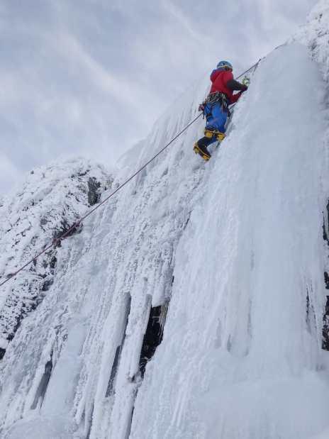 Escalada de hielo Circo de Becedas- Béjar
