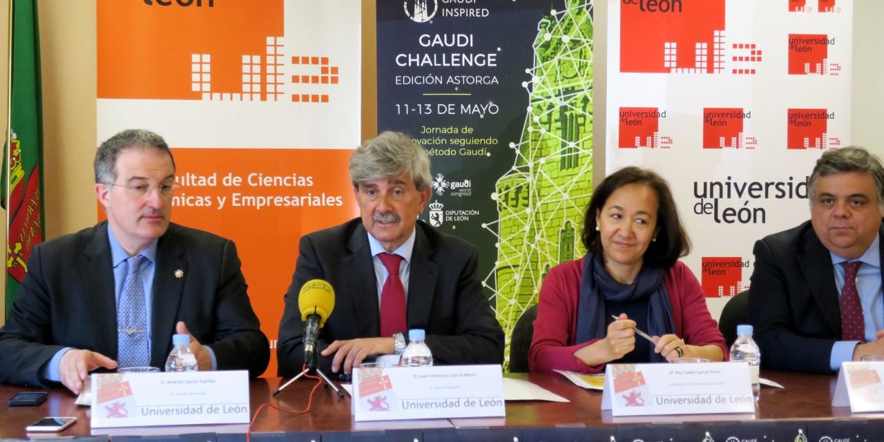 'GAUDI CHALLENGE' RETA A LOS ALUMNOS DE LA ULE A BUSCAR UN TURISMO SOSTENIBLE
