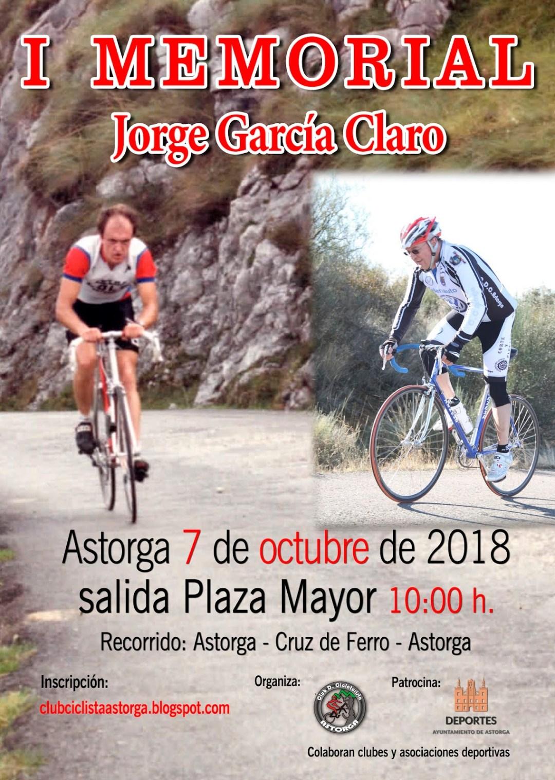 MEMORIAL JORGE GARCÍA CLARO