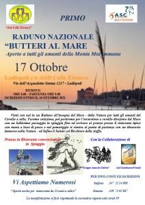 """PRIMO RADUNO NAZIONALE """"BUTTERI AL MARE"""" 17 Ottobre"""