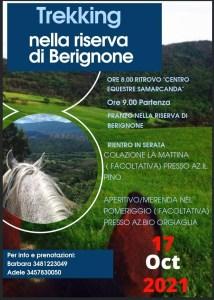 Trekking nella riserva del Berignone