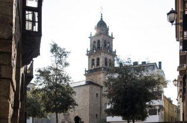 Basílica y plaza de la Encina
