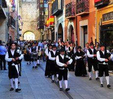 Folclore y gaitas fiestas de la Encina