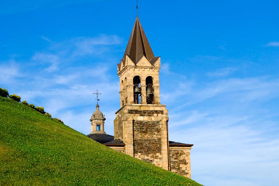 Torre y campanario iglesia de San Andrés