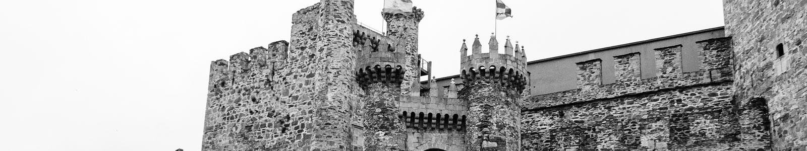 Detalle entrada Castillo de los Templarios