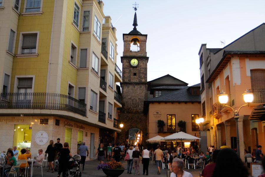 Entrada a la Calle el Reloj