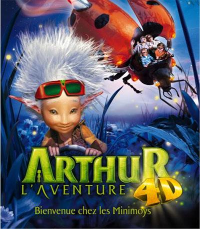 Arthur la Aventura 4D