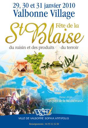 Fiesta de la Saint Blaise, de la uva