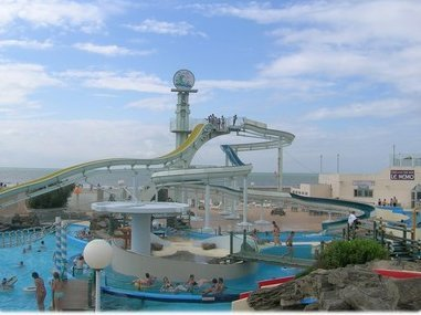 Aqualud, parque acuático en Touquet