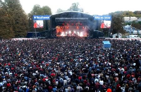 "Festival ""Rock en Seine"" París"