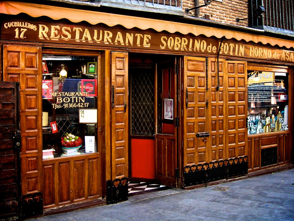 Restaurante Botin El Restaurante Mas Antiguo Del Mundo En